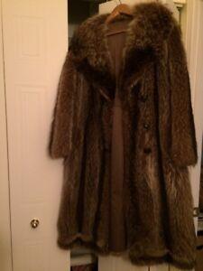 Manteau de fourrure - chat sauvage