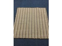 Custom made Multi coloured striped whipped large mat 1.25x130m