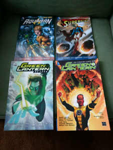 DC TPB lot, Supergirl, Aquaman, Green Lantern x2