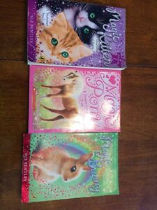 3 children's chapter books