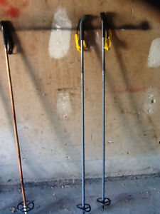 2 sets of ski poles - as -is - $10 both pairs