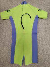 Spartan adult size shortie wetsuit