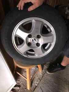 Mag 13 pouce 4 trous Honda