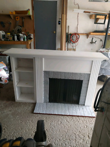 Decorative fireplace unit