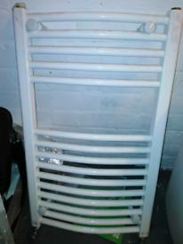 Radiator white bathroom