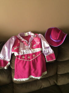 Halloween Costume - Toddler Cowgirl