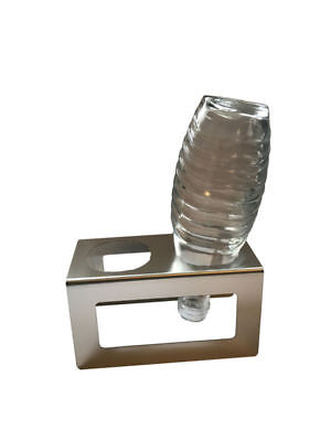 Abtropfhalter 1.0 aus Edelstahl für z.B. Sodastream Crystal Flaschen Halter
