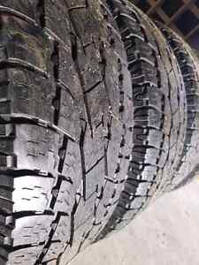 Toyo Open Country A/T 10 ply tires 275/70R18