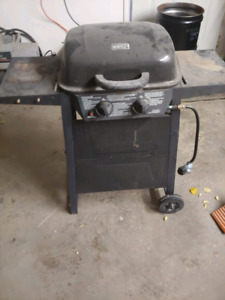 Small propane barbecue and natural gas bbq
