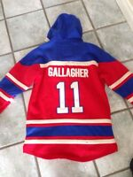 Montreal Canadiens Gallagher hoodie