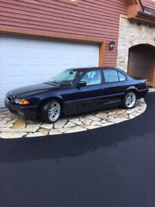 2000 BMW 740i sport package