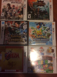 Nintendo ds and 3ds games for sale