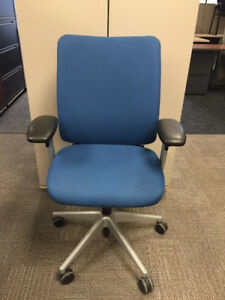 Task Chair - Steelcase Crew in Blue