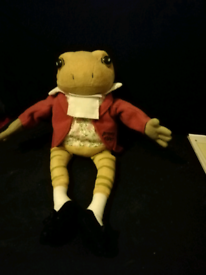 Collectable jeremy fisher soft toy