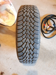 Goodyear Nordic Winter Tires, Rims and Caps(185-70-R14)