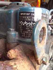 Kabota diesel .479liter engine + 115 volt generator London Ontario image 4