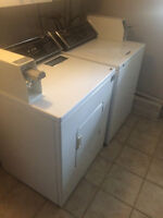 Inglis Coin Operated Washer and Dryer Pair