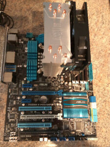 ASUS Motherboard, Intel - i5 CPU and Memory Combo.