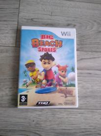 Wii game Big Beach Sports