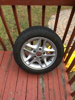 BMW Mags + winter tires R16