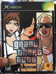 Xbox gta the trilogy game