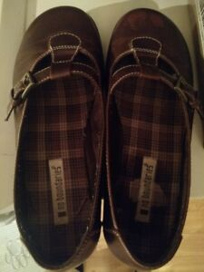 Brown Leater Casual Shoes