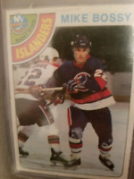 1978 79 OPC #115 Mike Bossy Rookie Card