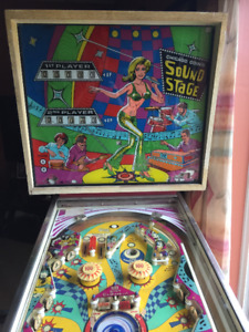Chicago Coin pinball machine parts wanted