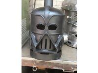 Darth Vader log burner wood burner chimnea. Ideal Xmas gift