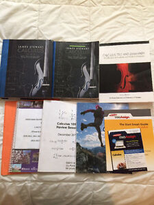 Calculus 1000 textbook package & past exams - Western