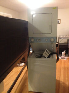 stackable apartment size washer & dryer NEW