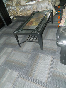 GLASS AND CERAMIC TILE COFFEE AND END TABLES Peterborough Peterborough Area image 2