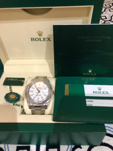 Rolex datejust 41mm fluted bezel white gold