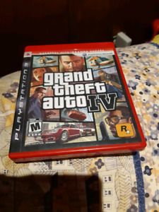 Grand Theft Auto IV 4 PS3