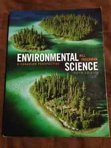 Environmental Science A Canadian Perspective 5th Edition