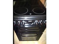 Black bush electric cooker fully working with receipt