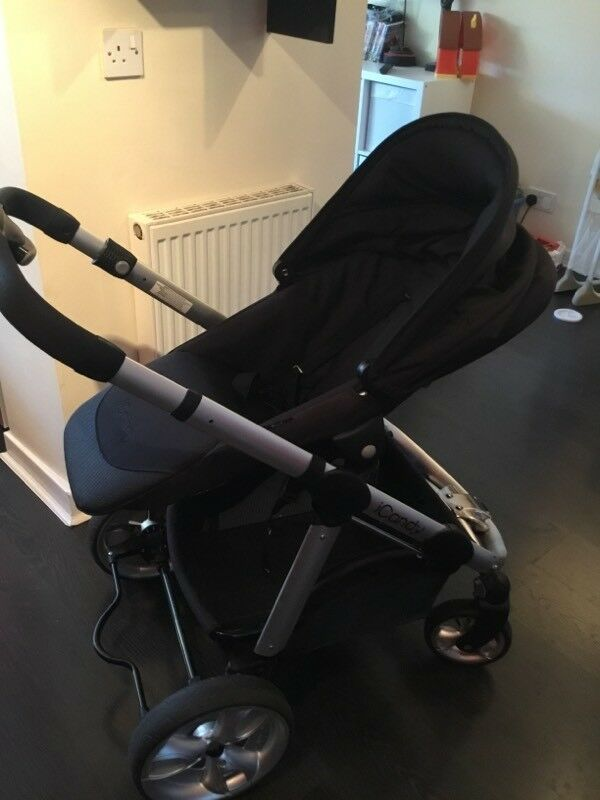 Icandy apple 2 pear carrycot and pushchair excellent condition