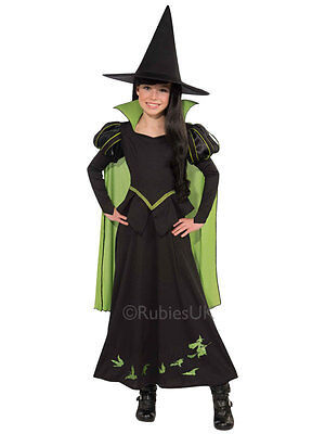 Child Wicked Witch Of The West Costume Girls Fancy Dress Outfit Wizard Of Oz (Wicked Witch Of The West Costume Child)