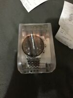 SWATCH WATCH SWISS MADE 1 MONT USED. WITH BOX AND RECEIPT
