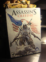 ASSASSIN'S CREED 3-STEELBOOK (NEUF/NEW)