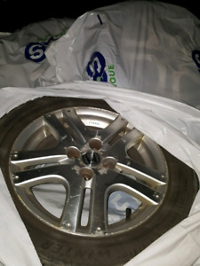 Honda Mags and winter tires 195/60 R15