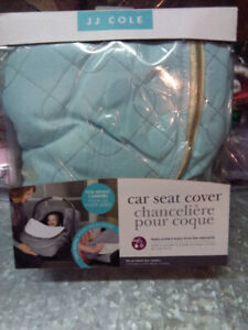 JJ Cole Carseat Cover / weather resistant / Open Box item