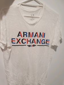 New condition ARMANI T SHIRT WHITE SZ M