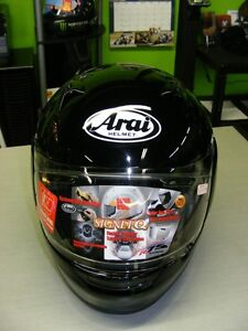 Arai - 2XL & XL - Signet Q - Black Pearl - NEW at RE-GEAR Kingston Kingston Area image 3