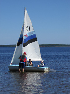 REDUCED - Echo Sailboat, perfect for cottage of sailing school