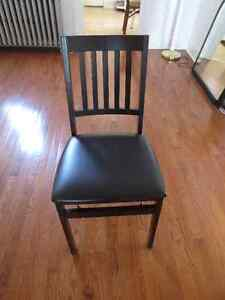 Foldable Wooden Chair Cambridge Kitchener Area image 1