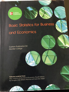 Basic Statistics for Business and Economics: Humber College
