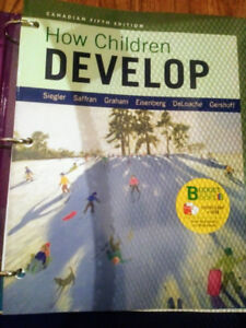 How Children Develop Canadian 5th Edition