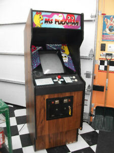 Pacman machine  all repaired!!!! works very good!