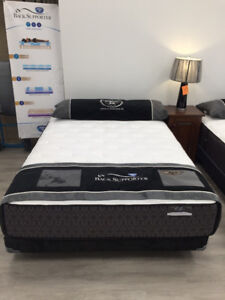 Brand new back supporter pocket coil luxury mattress & box $598